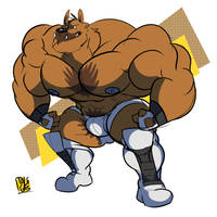 Much bigger than a regular bear! by ItsTalegas