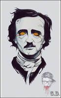 Immortal Edgar Allan Poe by LilinetKor