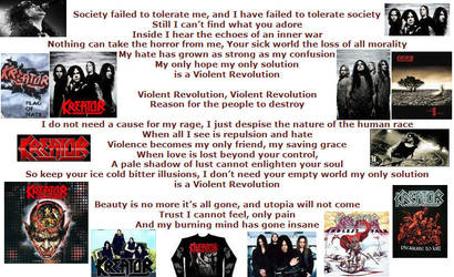 Kreator Violent Revolution by ImmortalSymbolicJas