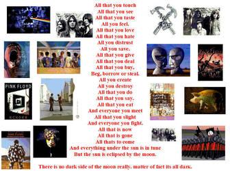 Pink Floyd Eclipse by ImmortalSymbolicJas