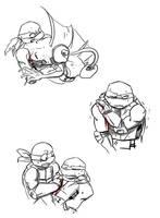 speed doodles - 2 or... by JayJayRey