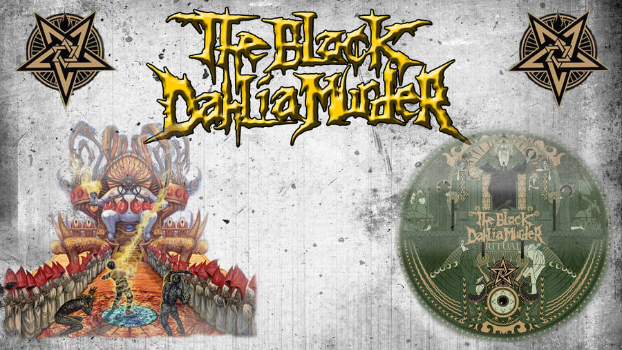 The Black Dahlia Murder Wallpaper By Starzandskullz On Deviantart