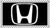 Honda Logo Stamp by LuckyBambooPhotos