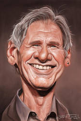 HARRISON FORD by JaumeCullell