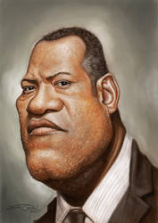 LAURENCE FISHBURNE by JaumeCullell