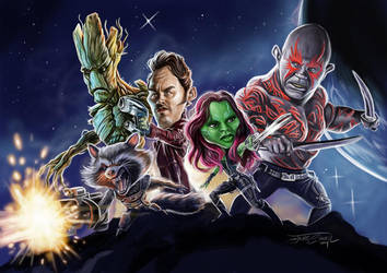 GUARDIANS OF THE GALAXY by JaumeCullell
