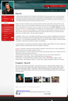 Webdesign for a healer by czjoe