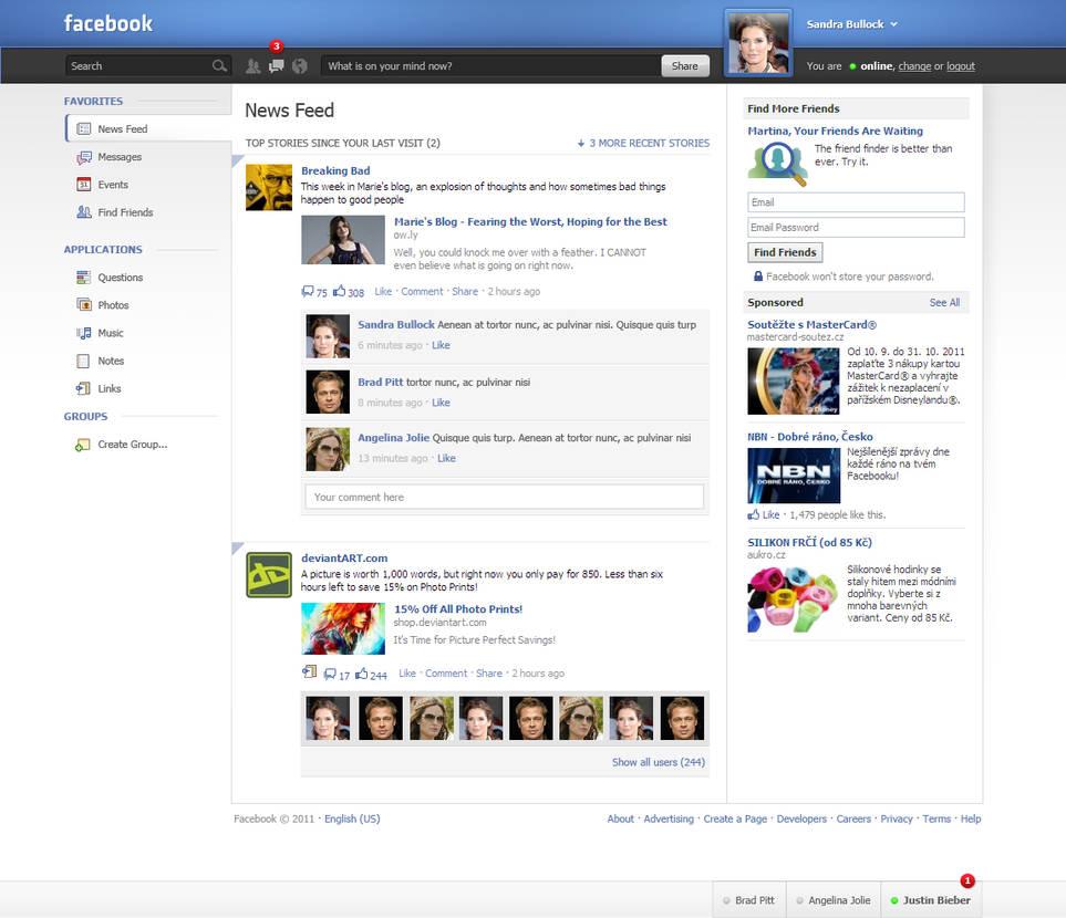 Facebook innovation - 1 by czjoe