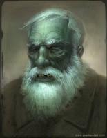 Portrait of an Old Dead Guy by joelhustak