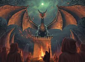 Draconic Ritual by joelhustak