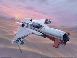 Kihraxz-class Assault Fighter by joelhustak