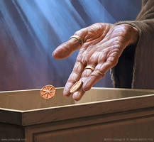 'Tithe' - Game of Thrones: Card Game by joelhustak