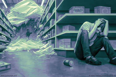 Supermarket by joelhustak