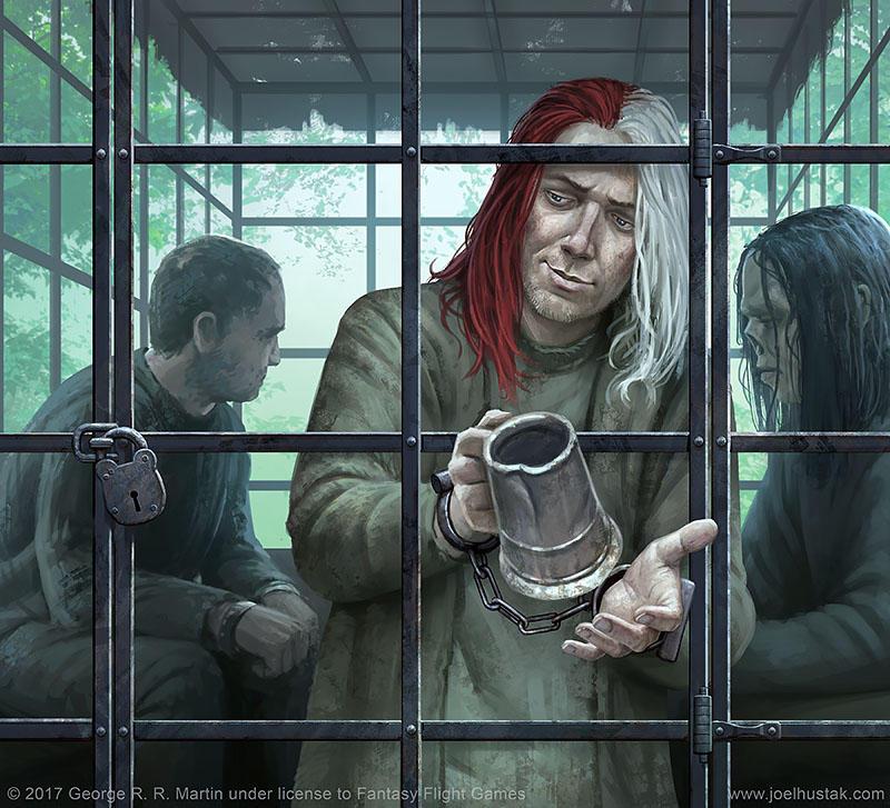 Jaqen H'ghar' by joelhustak