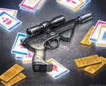 X-8 Night Sniper by joelhustak