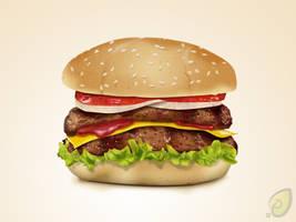 Hamburger Icon Free PSD by pixtea