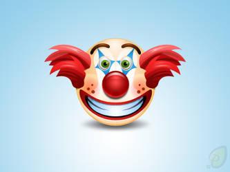 Clown Icon Free PSD by pixtea