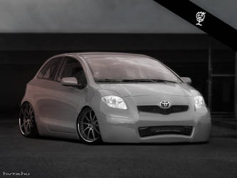 Toyota Yaris R.I.P by briandavid