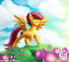 MLP - Time to spread wings by KGxspace