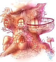 Dreamy Fairy House by KGxspace