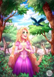 Rapunzel's New Days by KGxspace