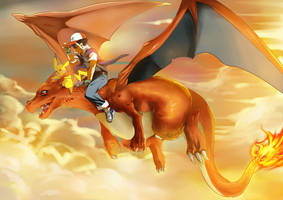 Dragon rider by goodgrace1
