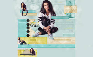 Explosions Design | Selena Gomez by weniexplosions