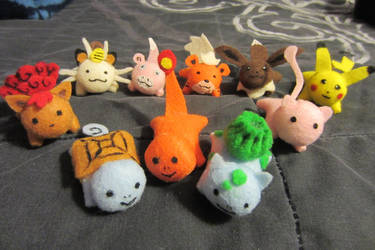 The Return of Mini Pokemon Buddies by StitchyGirl