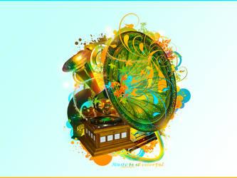 Music is so colorful by Karpiu23