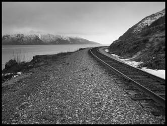 Tracking Turnagain Arm by adriftphotography