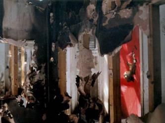 burnt-out building part 2 by redux