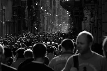 Crowd by minotauro9