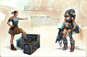 Ketta Chui Wei concept by katya-gudkina