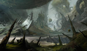 Old planet by katya-gudkina