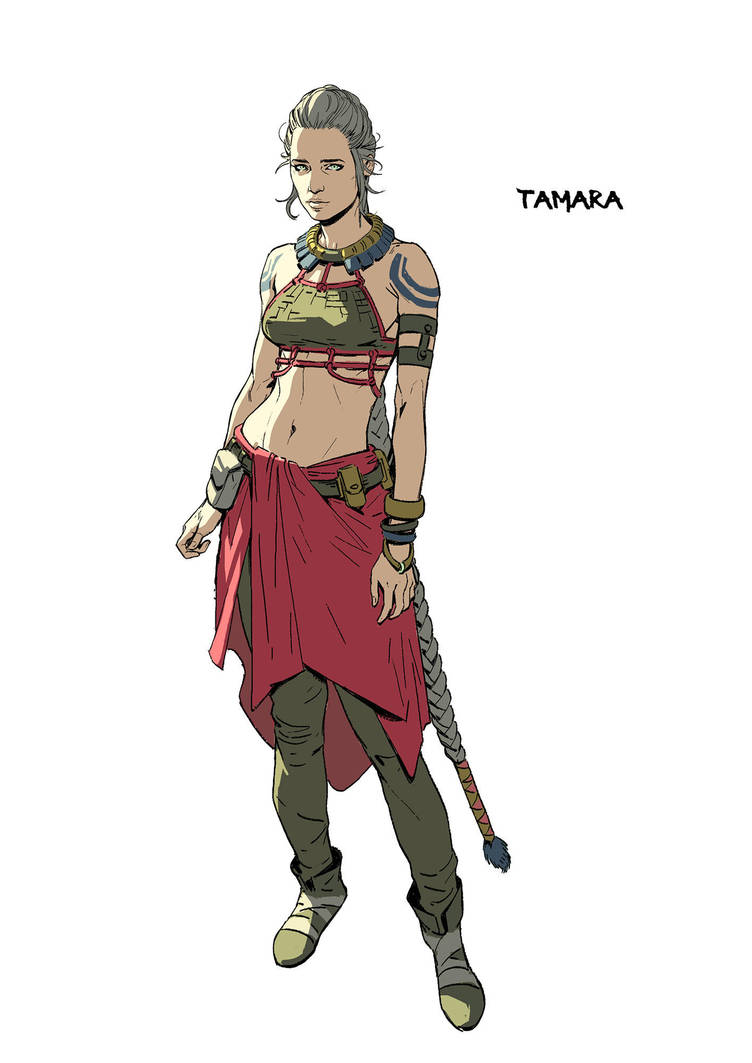 Tamara by katya-gudkina