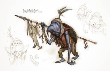 Goblin. Lonely-knight by katya-gudkina