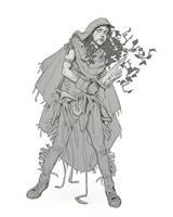 Druid/dryad by katya-gudkina