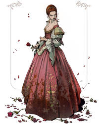 Elizabeth Bathory - Blood Countess by katya-gudkina