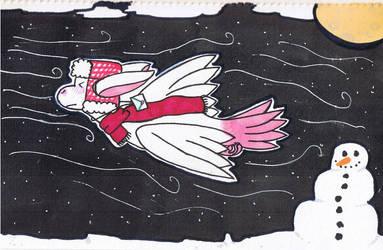 [Torimori] Seret Secret Santa -  Trough the Storm by ZombieGarou