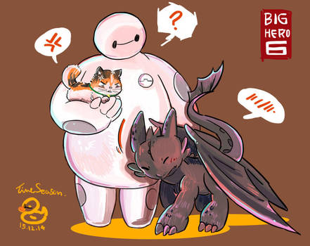 Fall in love with BAYMAX ! by Time-Season