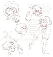 Hatter sketchdump 2 by lily-fox
