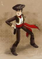 El vaquero by lily-fox