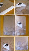Yarn Monster journal by lily-fox