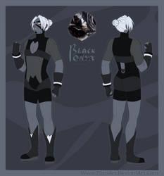 SU Gemsona: Black Onyx by PuroArt