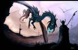 Dragon lord by VampirePrincess007