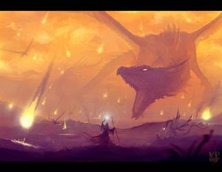 Wrath of the dragon by VampirePrincess007