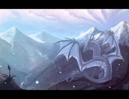 Snow valley by VampirePrincess007