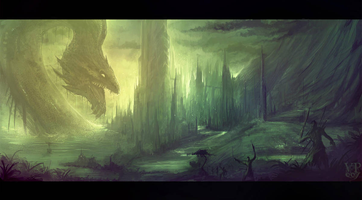 The rise of Jormungander by VampirePrincess007