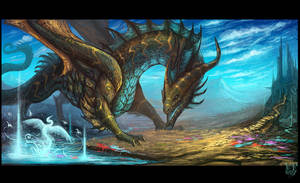 Water spirit by VampirePrincess007