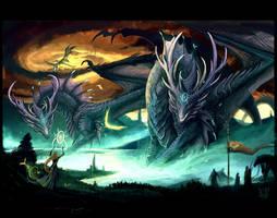 Dragon callers by VampirePrincess007